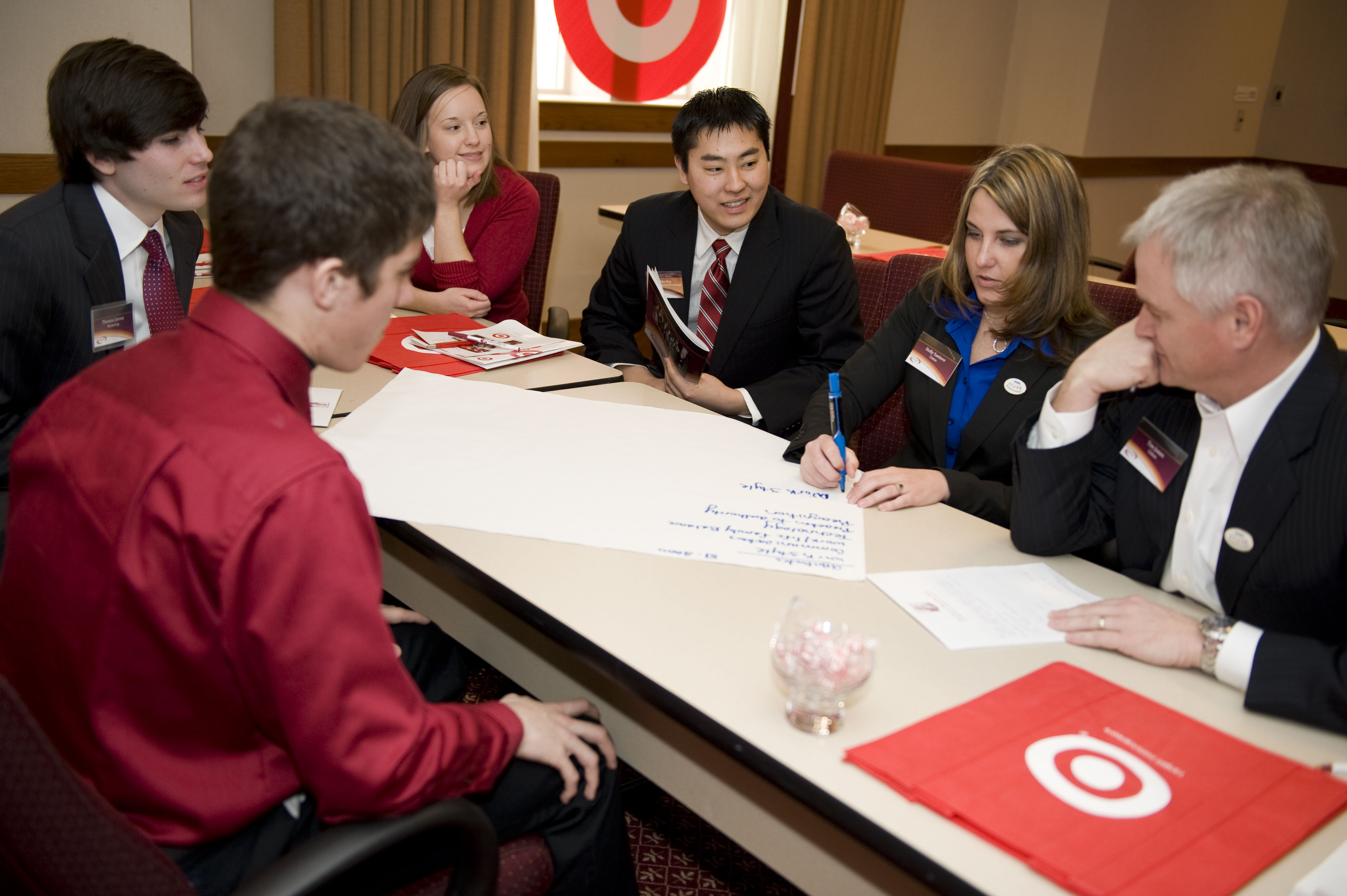 Target is among the companies sponsoring the diversity conference and its workshops.