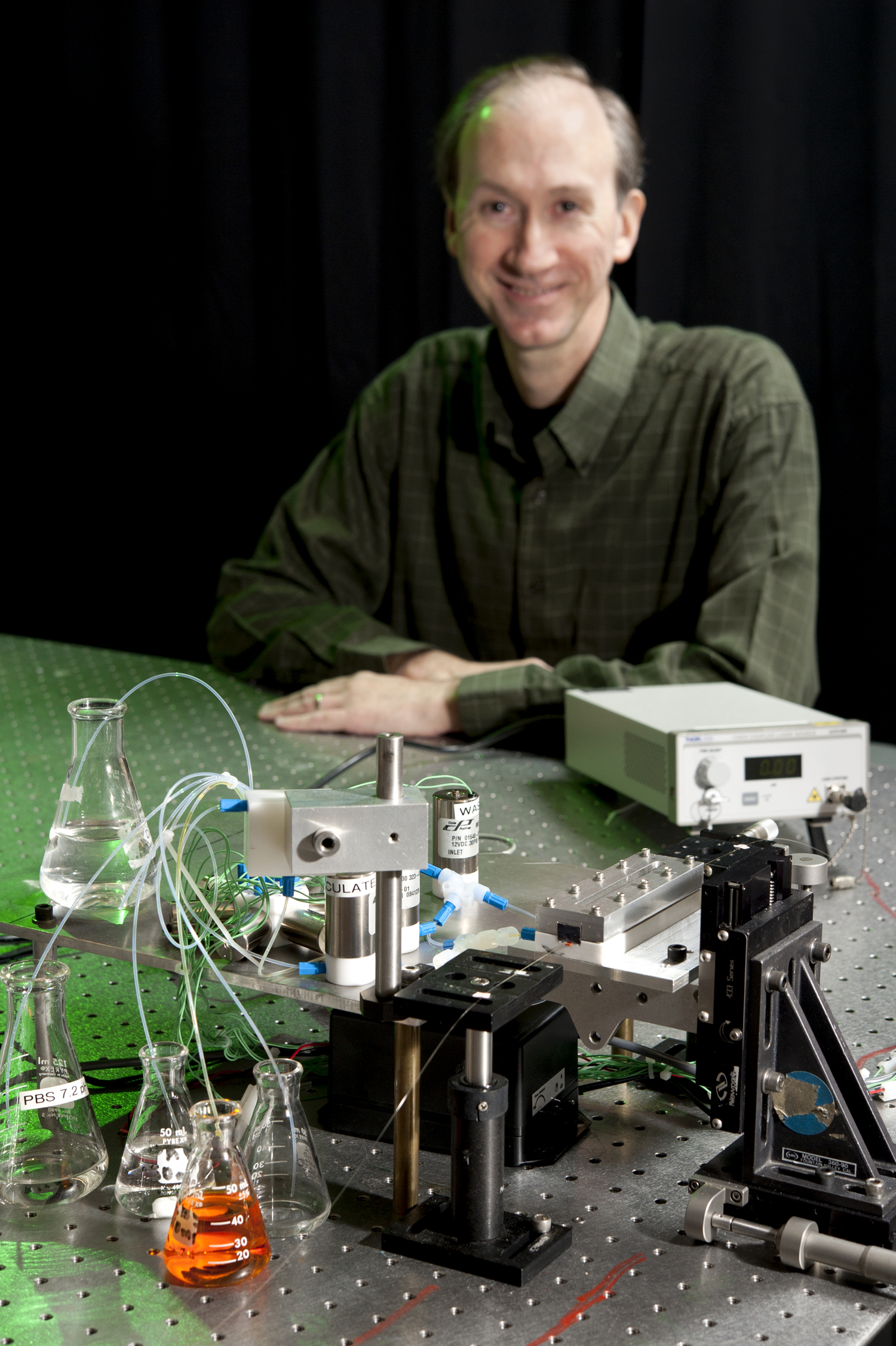 Randy Heflin, professor of physics at Virginia Tech