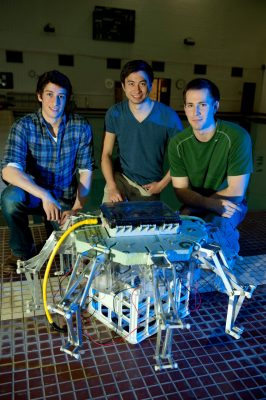 Student research team behind robotic jellyfish