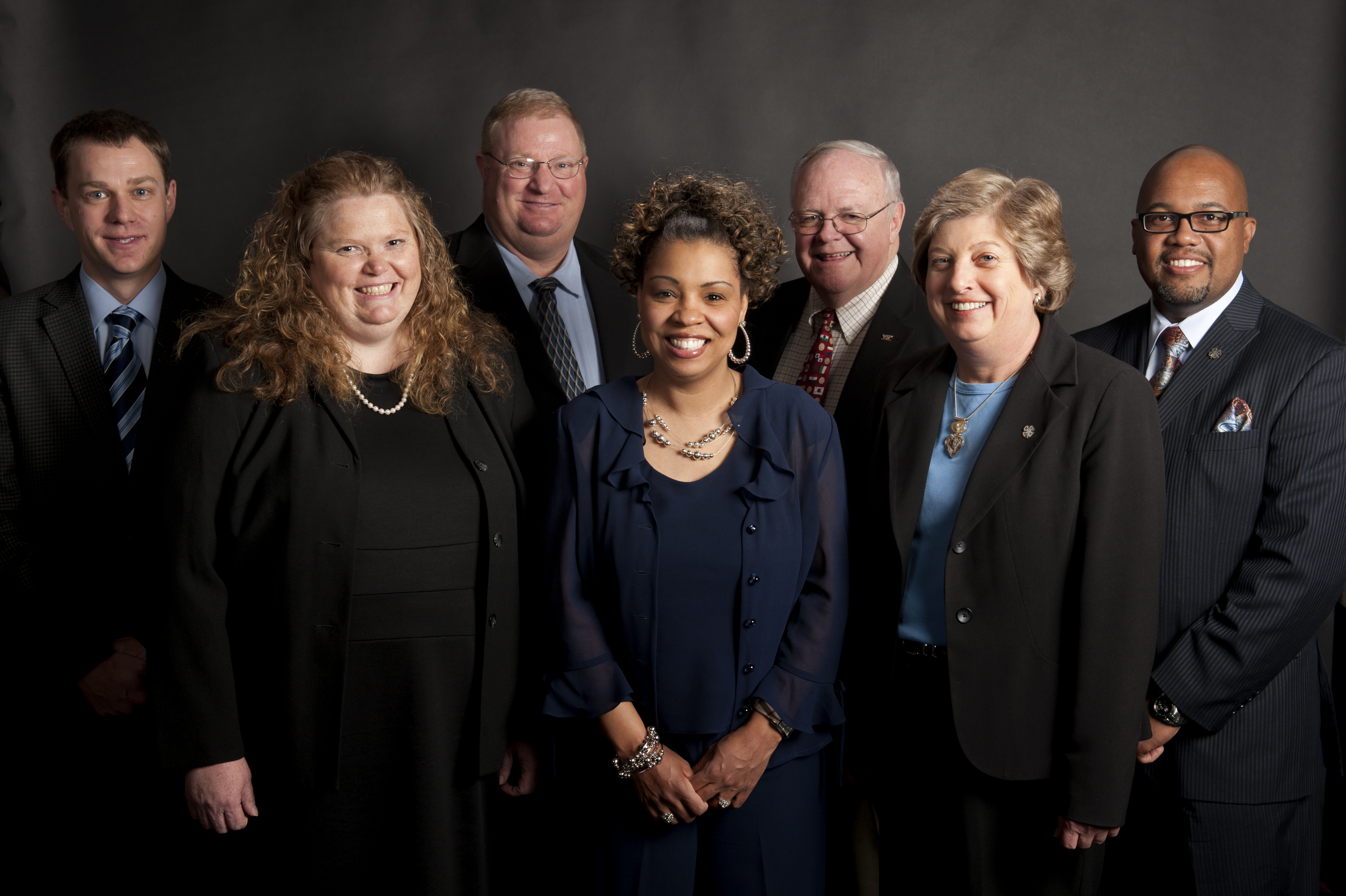 Jeremy Johnson, Jocelyn Dailey, John Blankenship, Tonya Price, Robert Meadows, Glenda Snyder, and Brain Hairston