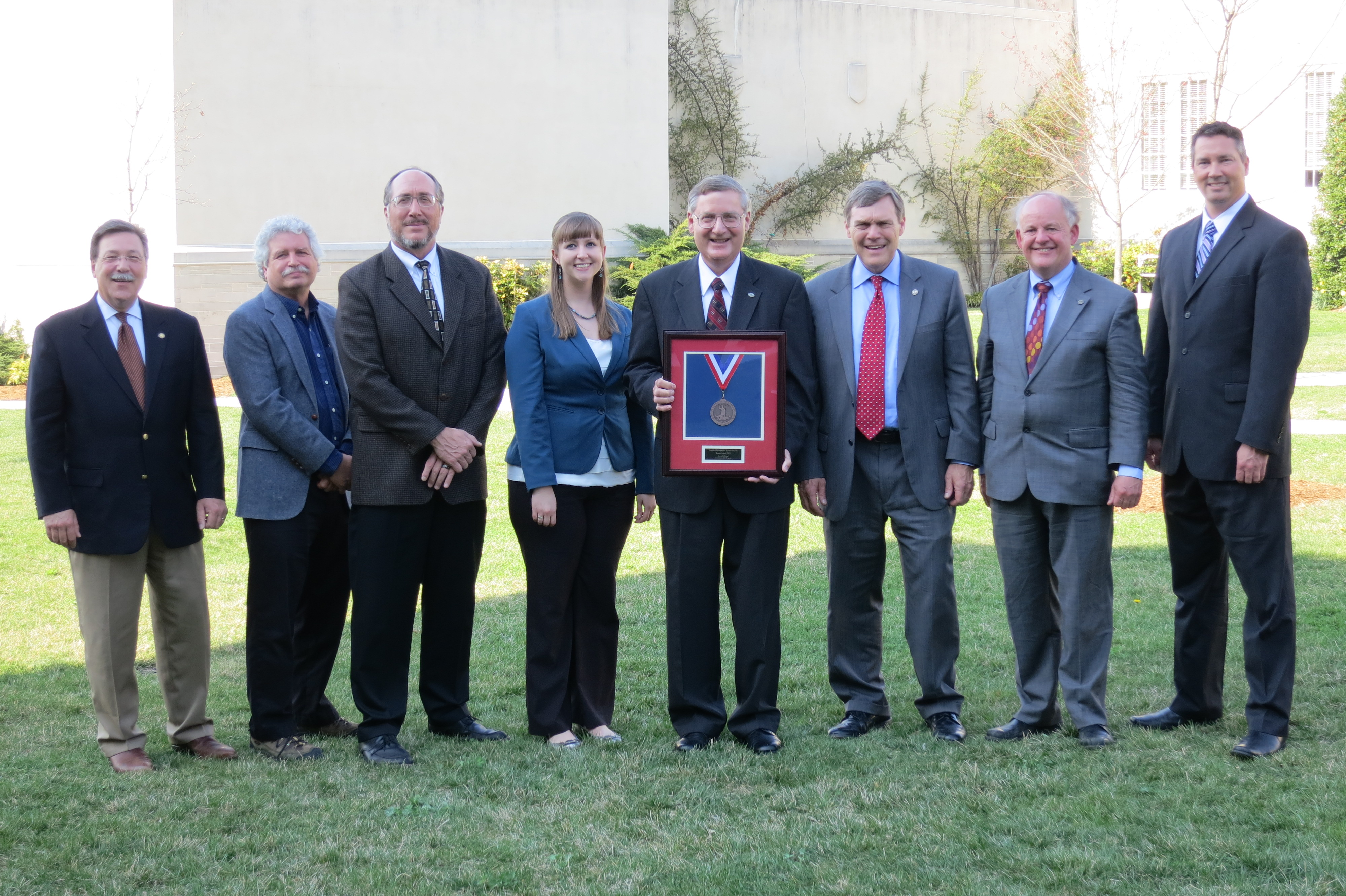 Sustainability program wins Governor's Environmental Excellence Award