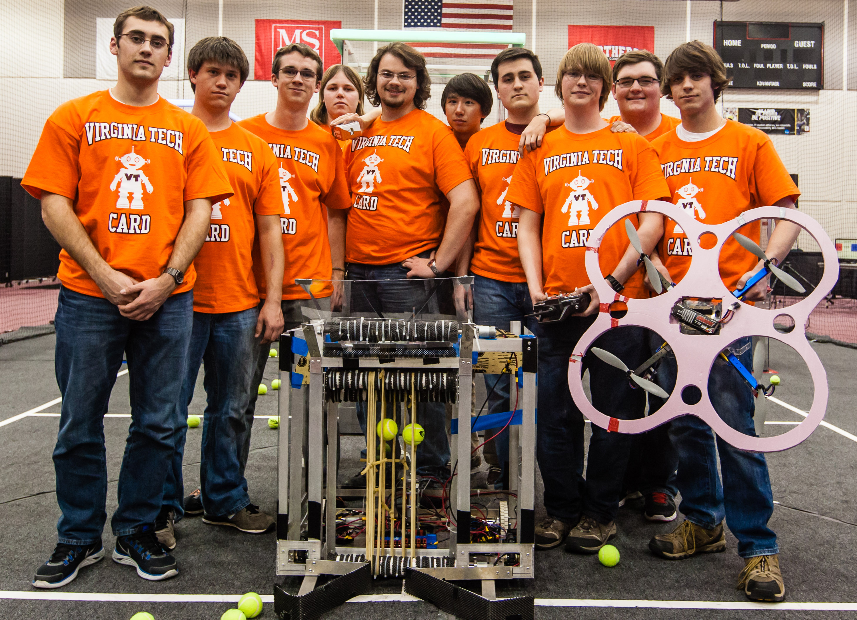 Collegiate Aerial Robotics Demonstration team
