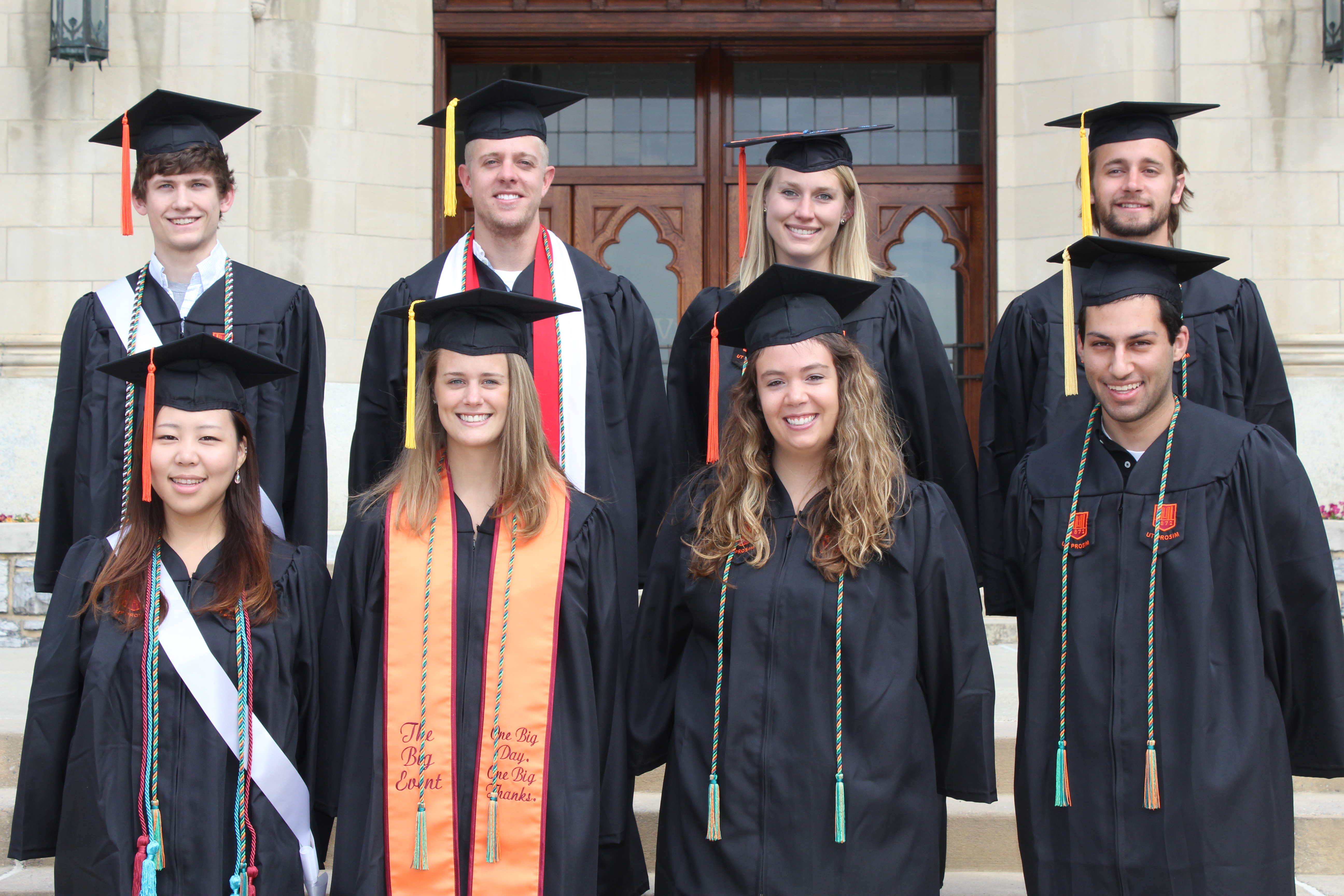 The first cohort of graduates from the Scieneering program
