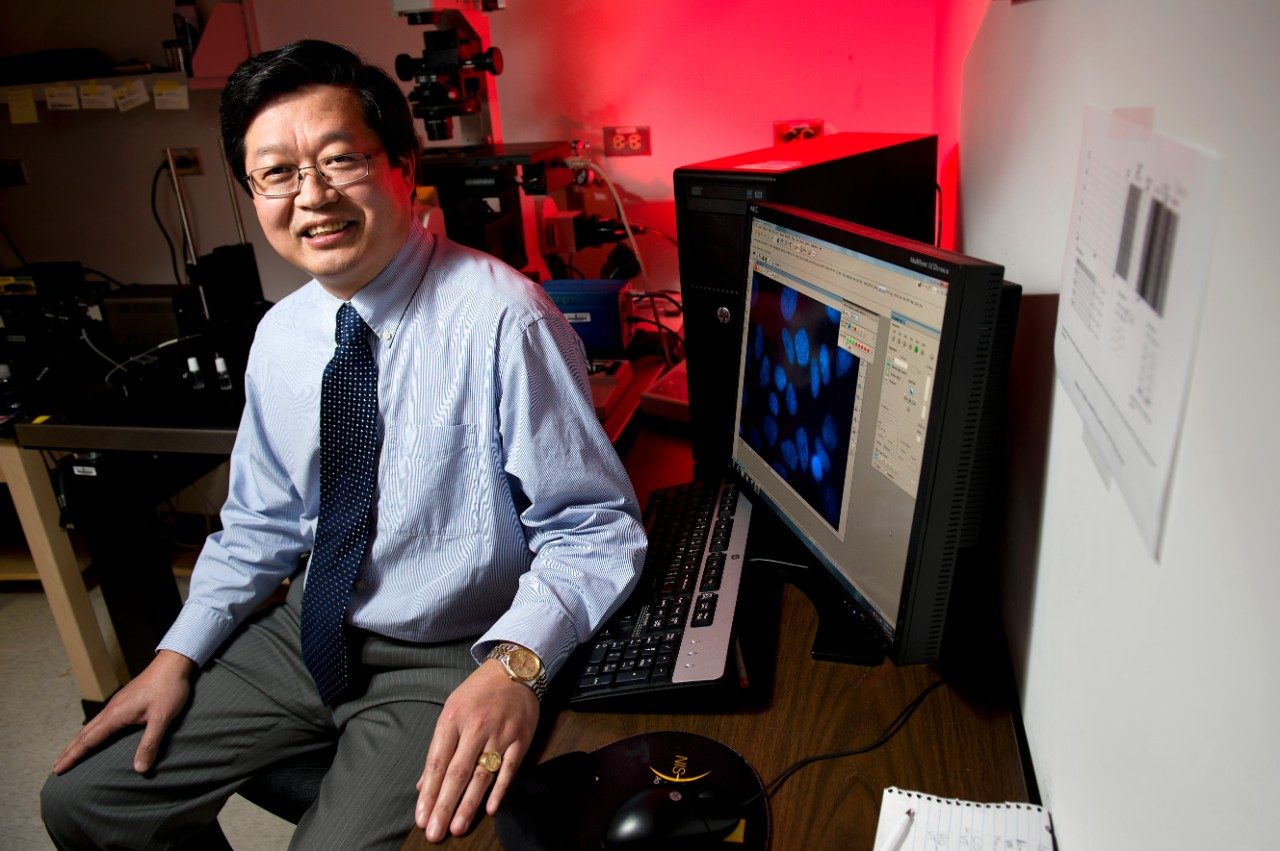 Since joining the Virginia Tech faculty in 1999, Dr. X.J. Meng has been involved with more than $40 million in research grants.