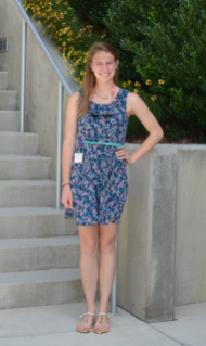 Stephanie Wiltman, a Scieneering student, is doing undergraduate research during summer 2013 at the Virginia Tech Carilion Research Institute under the mentorship of Brooks King-Casas.
