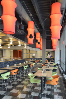 Turner Place at Lavery Hall is known as much for its innovative design as its food.