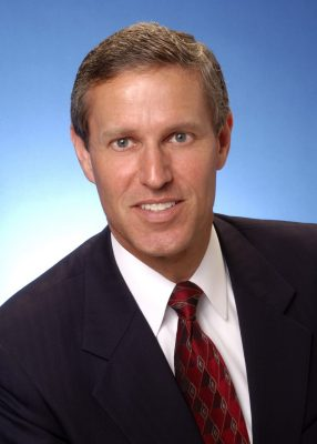 Photograph of James L. Chapman IV, 2013 appointee to Virginia Tech's Board of Visitors