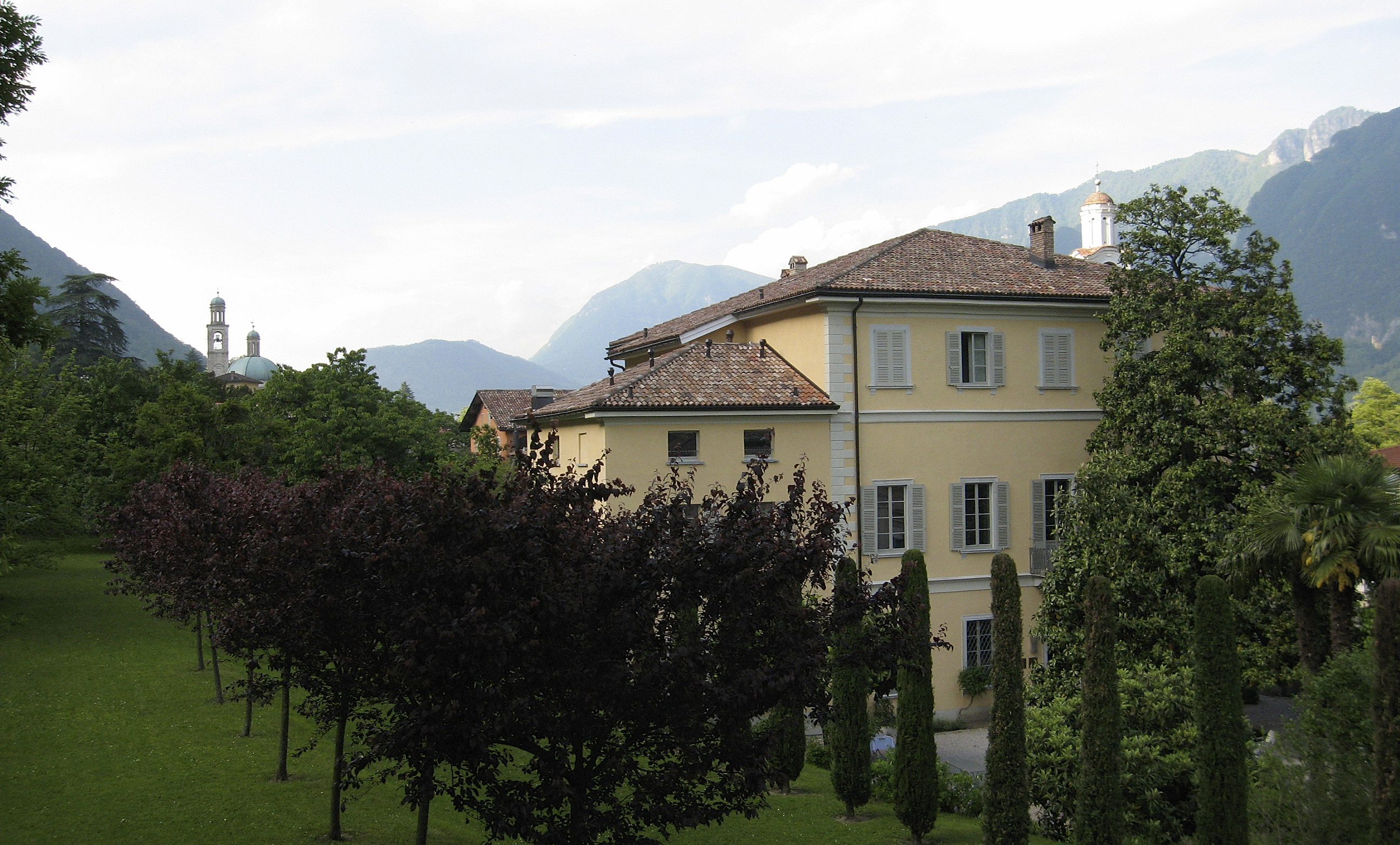 Casa Maderni, Center for European Studies and Architecture, in Riva San Vitale, Switzerland