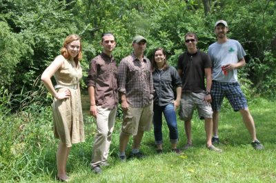 Members of Bryan Brown's lab