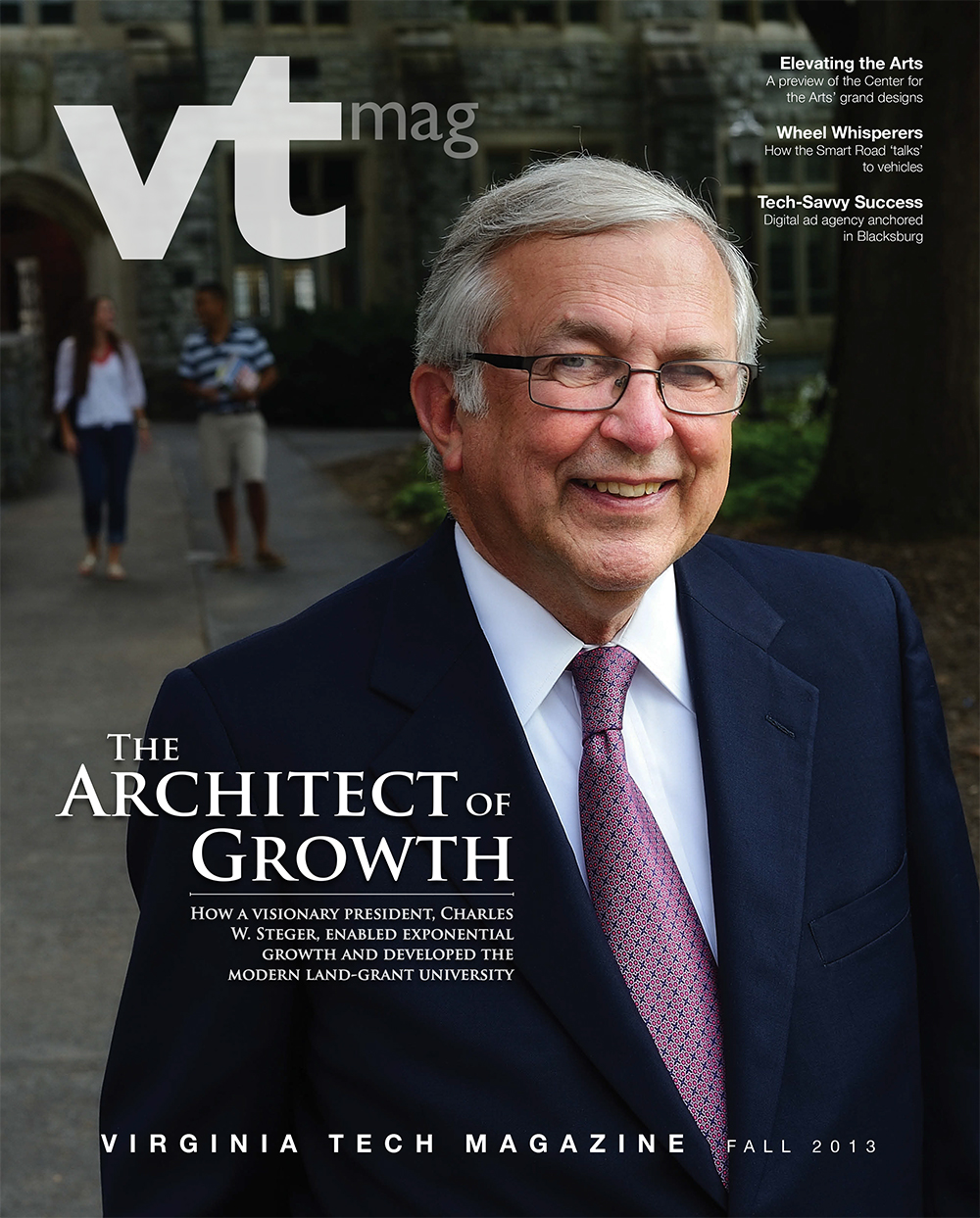 Virginia Tech Magazine fall 2013 cover