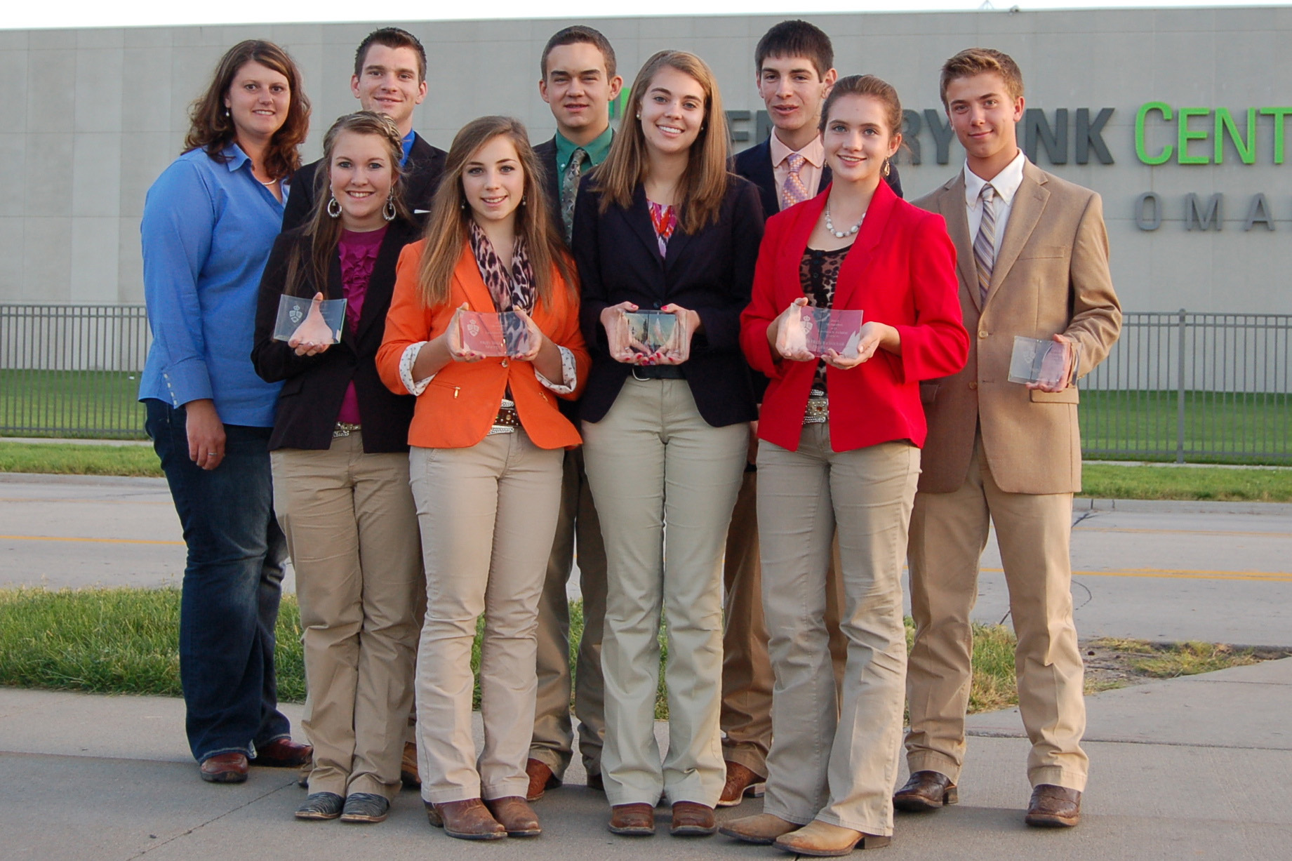 Virginia 4-H Livestock Judging Team