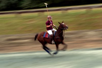 Virginia Tech junior Jenny Schwartz is the coach and player for the Polo Team at Virginia Tech.