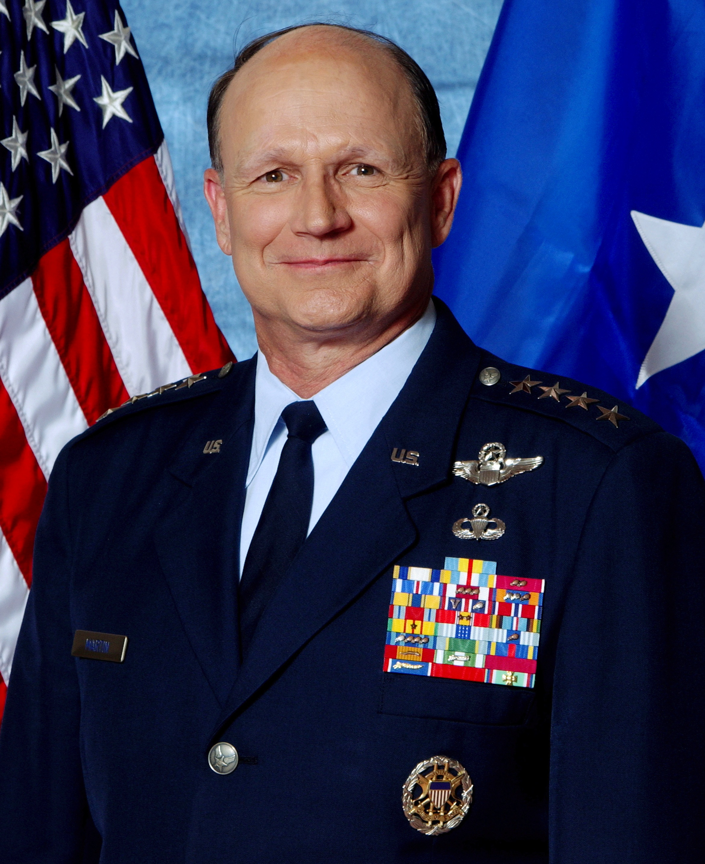 Gen. Gregory Martin, U.S. Air Force retired