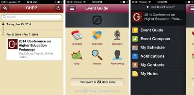 2014 Conference on Higher Education Pedagogy Mobile App