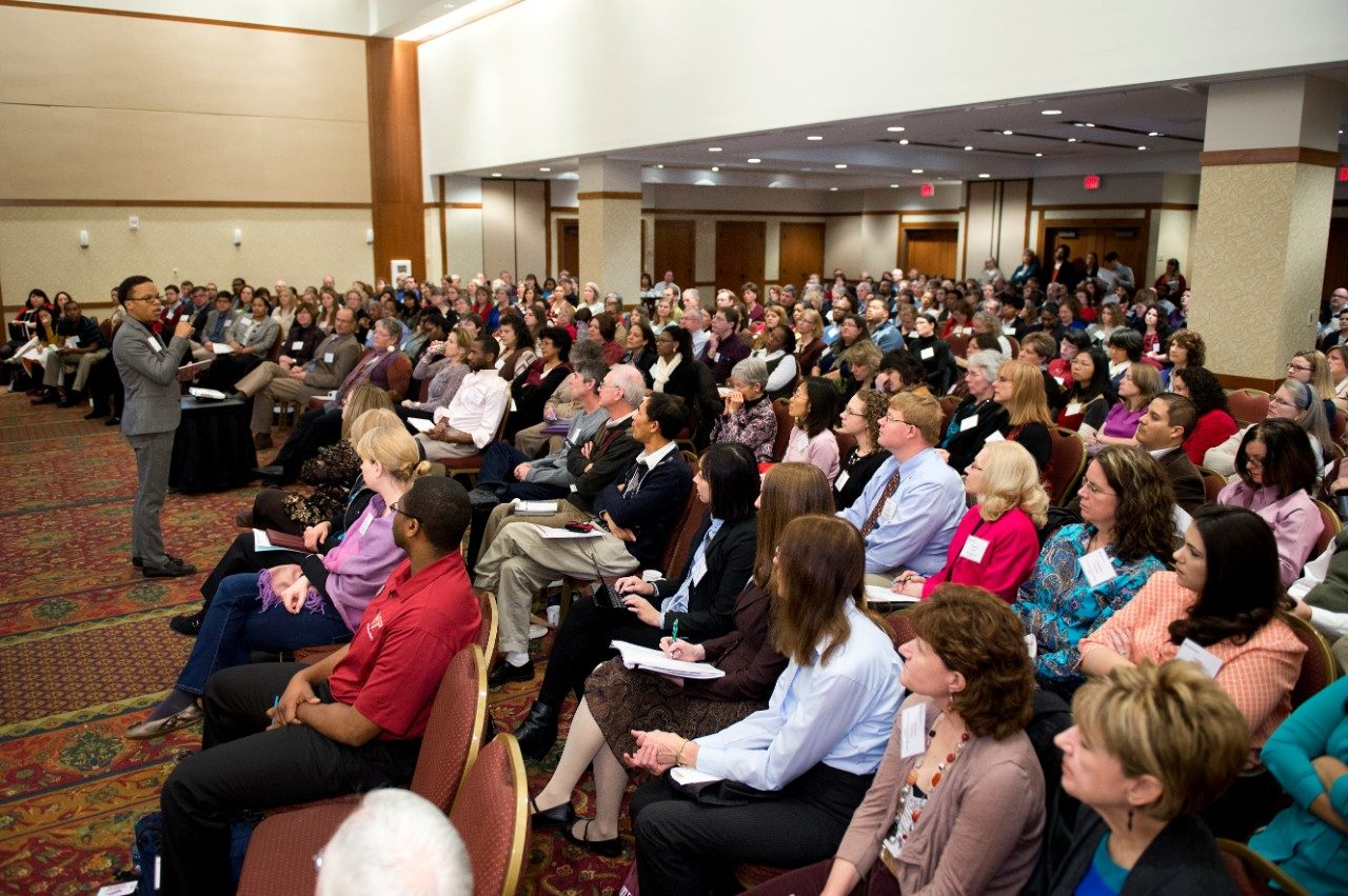 More than 300 attended the 2014 Advancing Diversity workshop, hosted by AdvanceVT and the Office of Diversity and Inclusion.