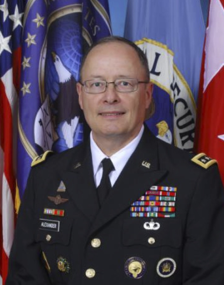 Gen. Keith Alexander, U.S. Army in dress uniform