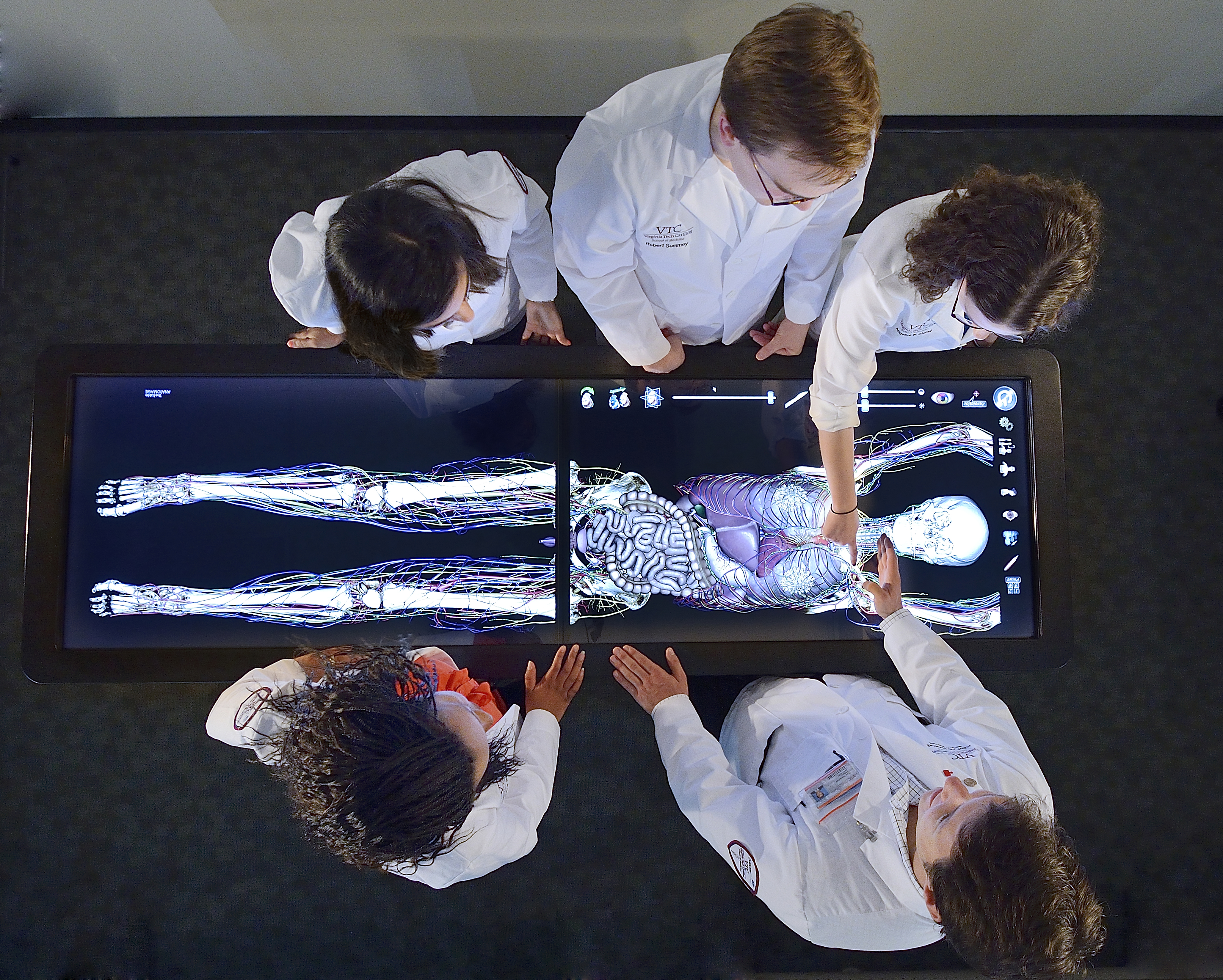 At The Touch Of A Finger Virtual Patient Helps Students Learn