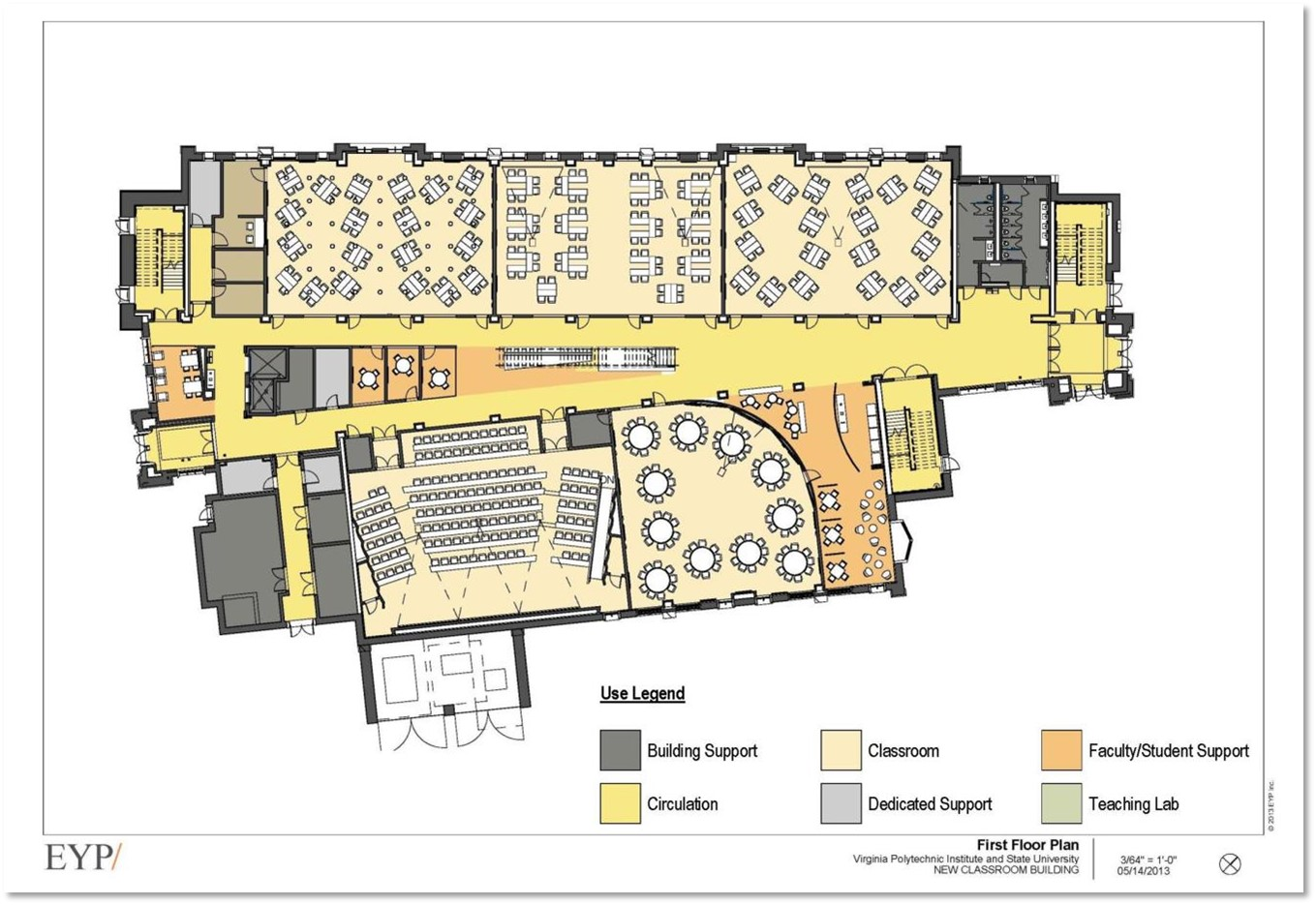 Classroom Building Design : New classroom building to provide additional innovative