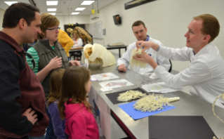 The annual Open House includes tours of the veterinary college, as well as lectures and demonstrations on a variety of topics.