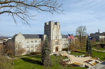 In the Virginia's Favorite Architecture public poll, Burruss Hall was chosen 3rd, Lumenhaus 4th, War Memorial Chapel and Pylons was 6th, and Moss Arts Center was 8th.