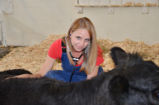 During her four years at the veterinary college, Casey Burke was an active member of the Food Animal Practitioners Club and served as its historian and secretary.