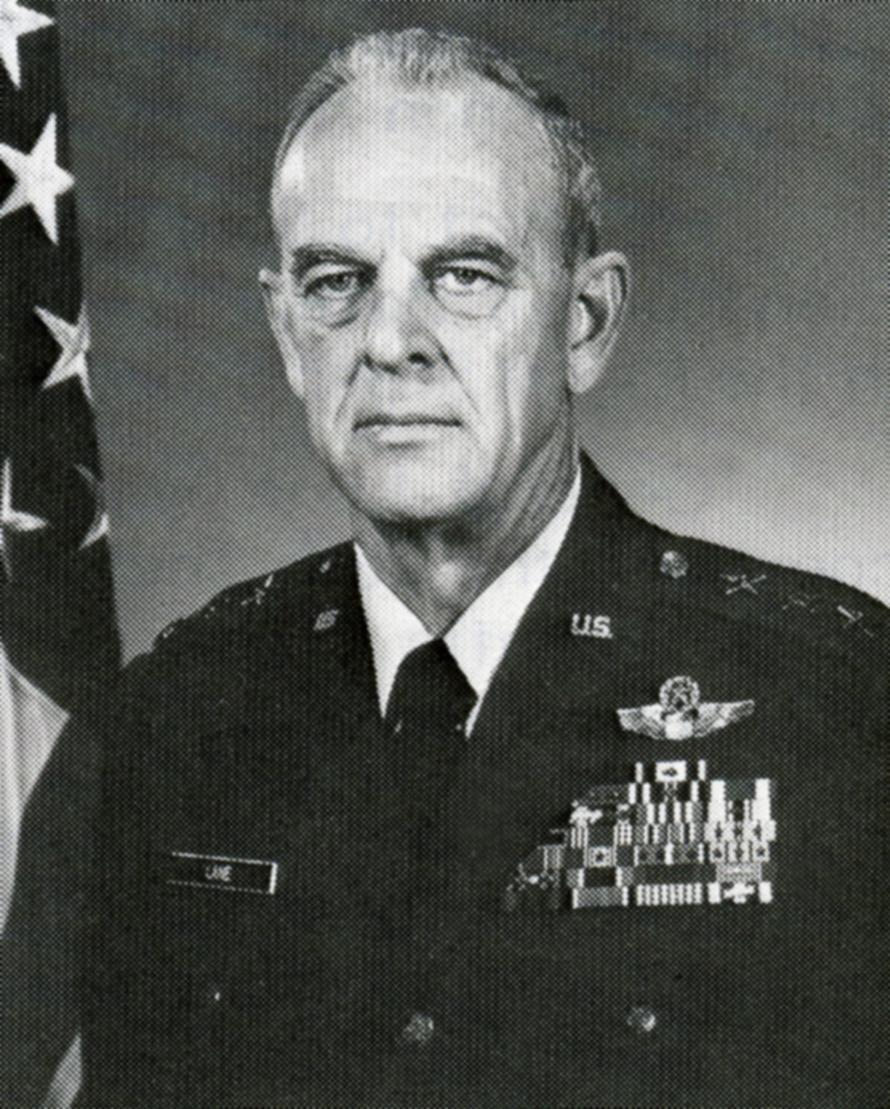 Former Commandant Lt. Gen. Howard M. Lane, Sr.