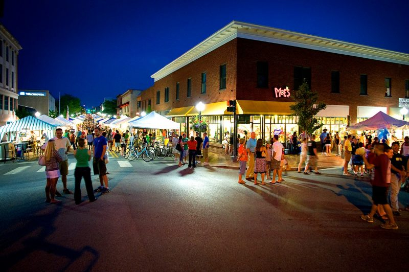 Blacksburg exudes a special vibe during the summer months.
