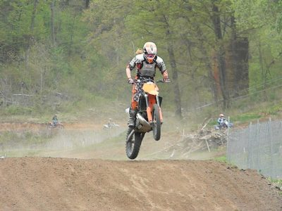 Rebekah Less motocross racing