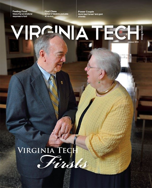 Virginia Tech Magazine summer 2014 cover