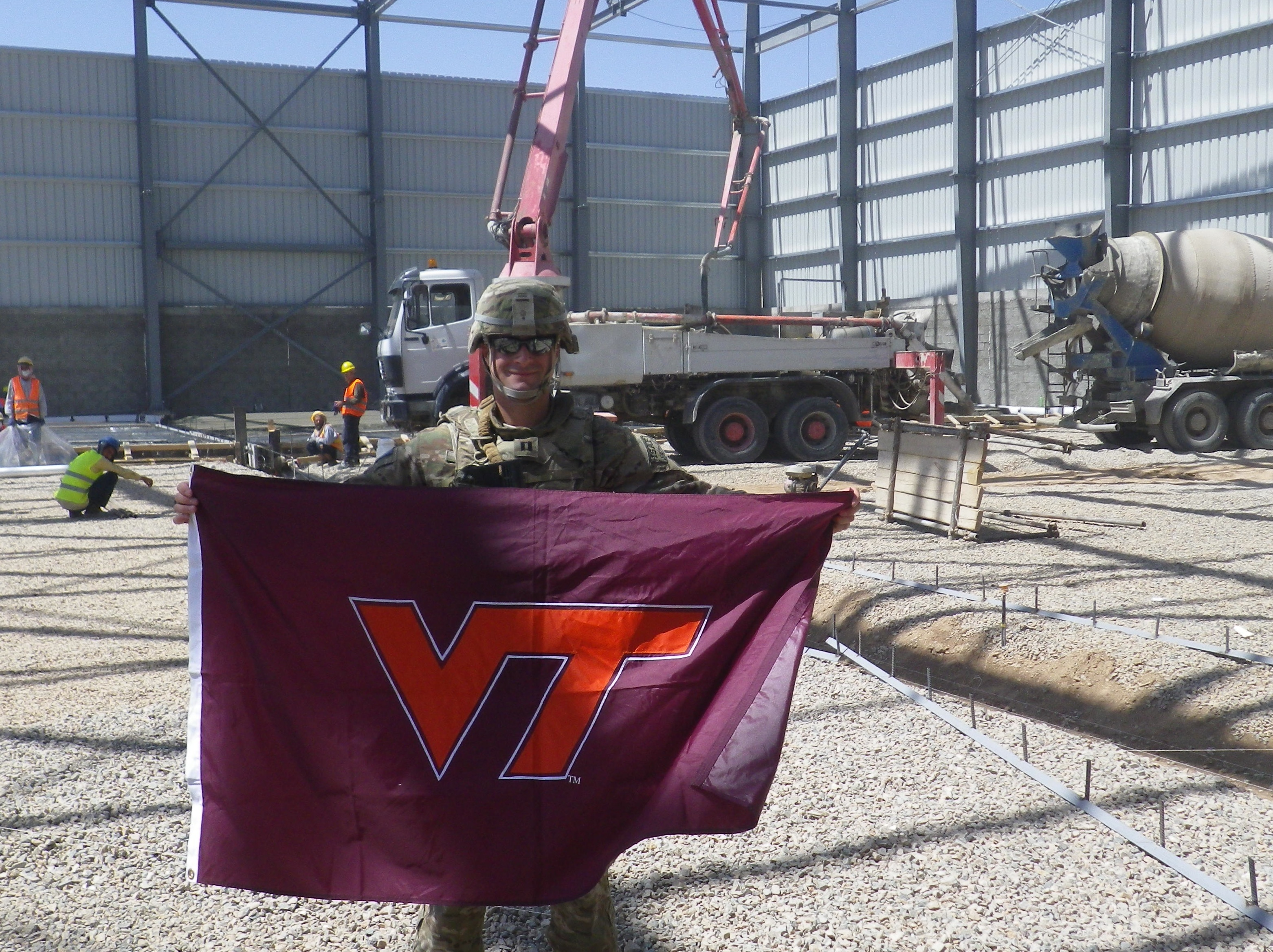 Capt. Darren Zega, U.S. Army, Virginia Tech Corps of Cadets Class of 2007.