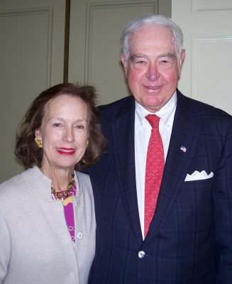 A photograph of Alice and Bill Goodwin