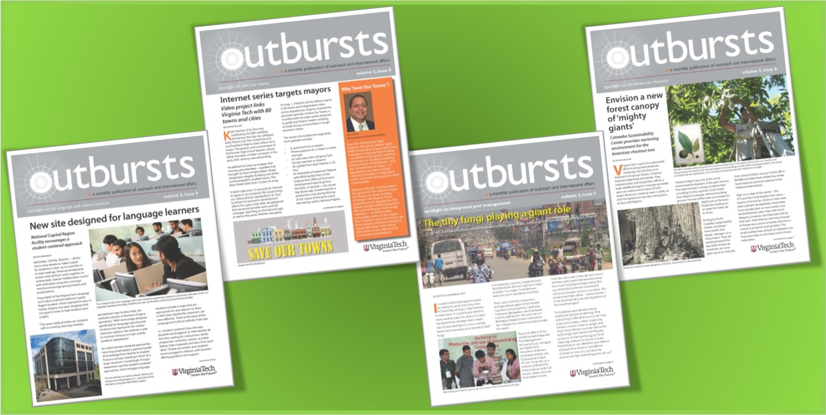 Outbursts latest issue pics