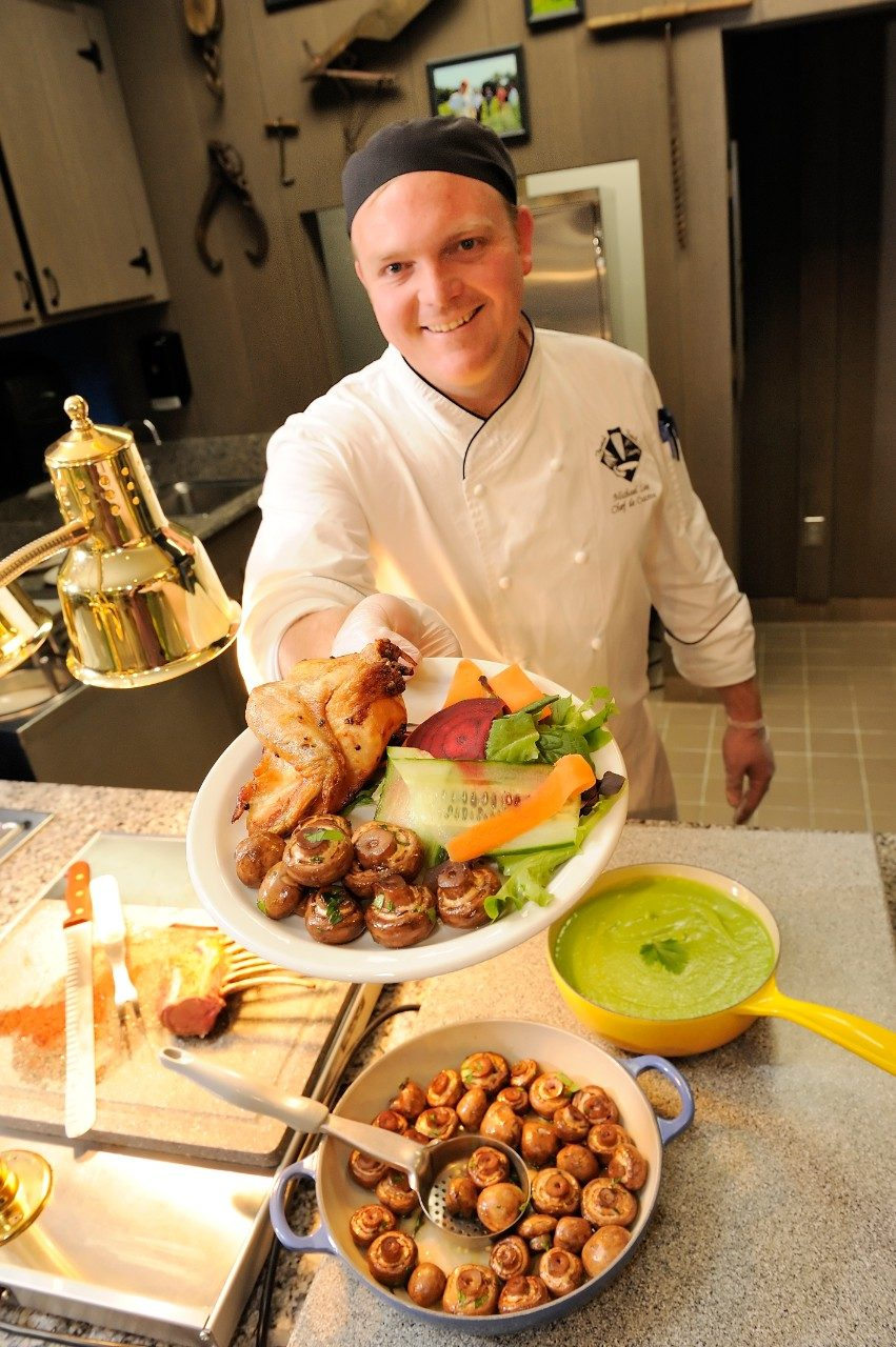 Five executive chefs from Virginia Tech Dining Services will showcase their local menus at the 2014 Chef Premiere.