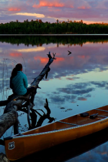 The Boundary Waters Canoe Area Wilderness is known for its beauty and solitude.