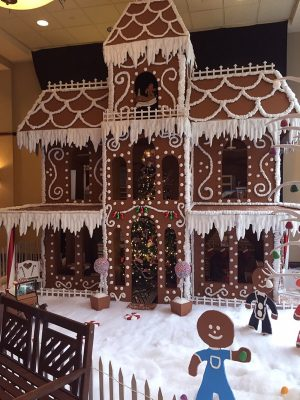 HR Gingerbread House