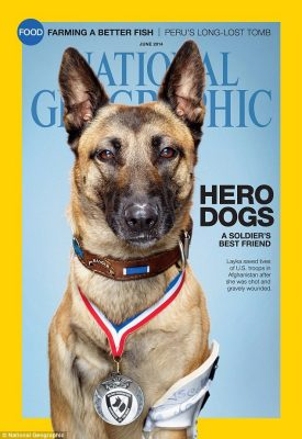 Layka on National Geographic cover