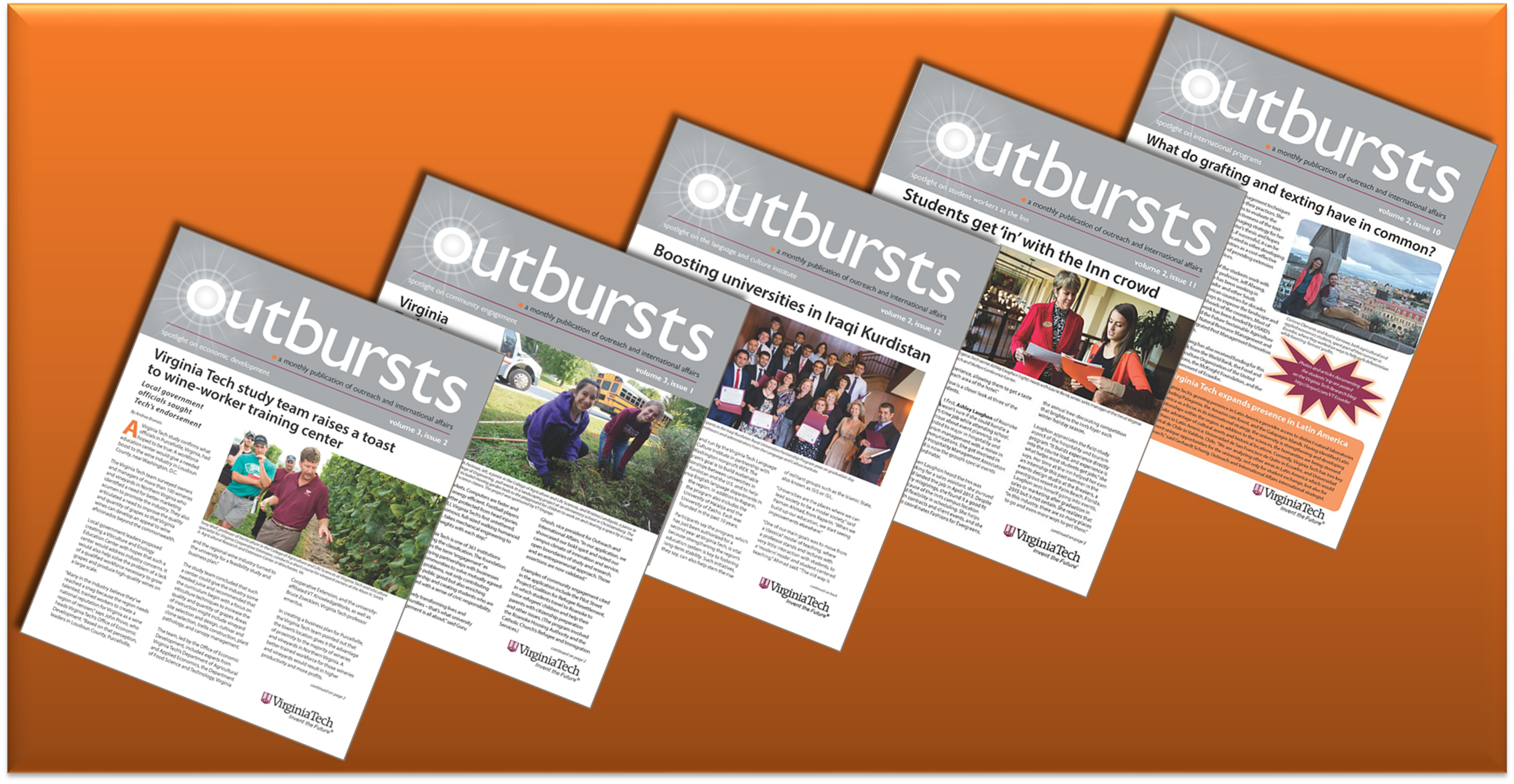 Outbursts fall-winter issues 2014-15