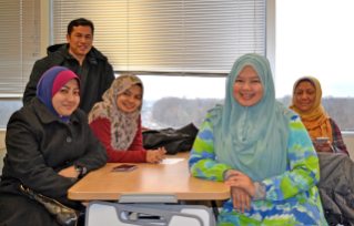 Twenty high school chemistry and math teachers from Malaysia are participating in an intensive teacher-training program at the Virginia Tech Language and Culture Institute in Fairfax, Virginia.