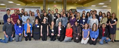 Graduate students at Vet Med Research Symposium