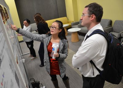 Poster session at Vet Med Research Symposium