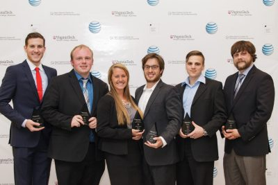 Innovation and Entrepreneurship award winners