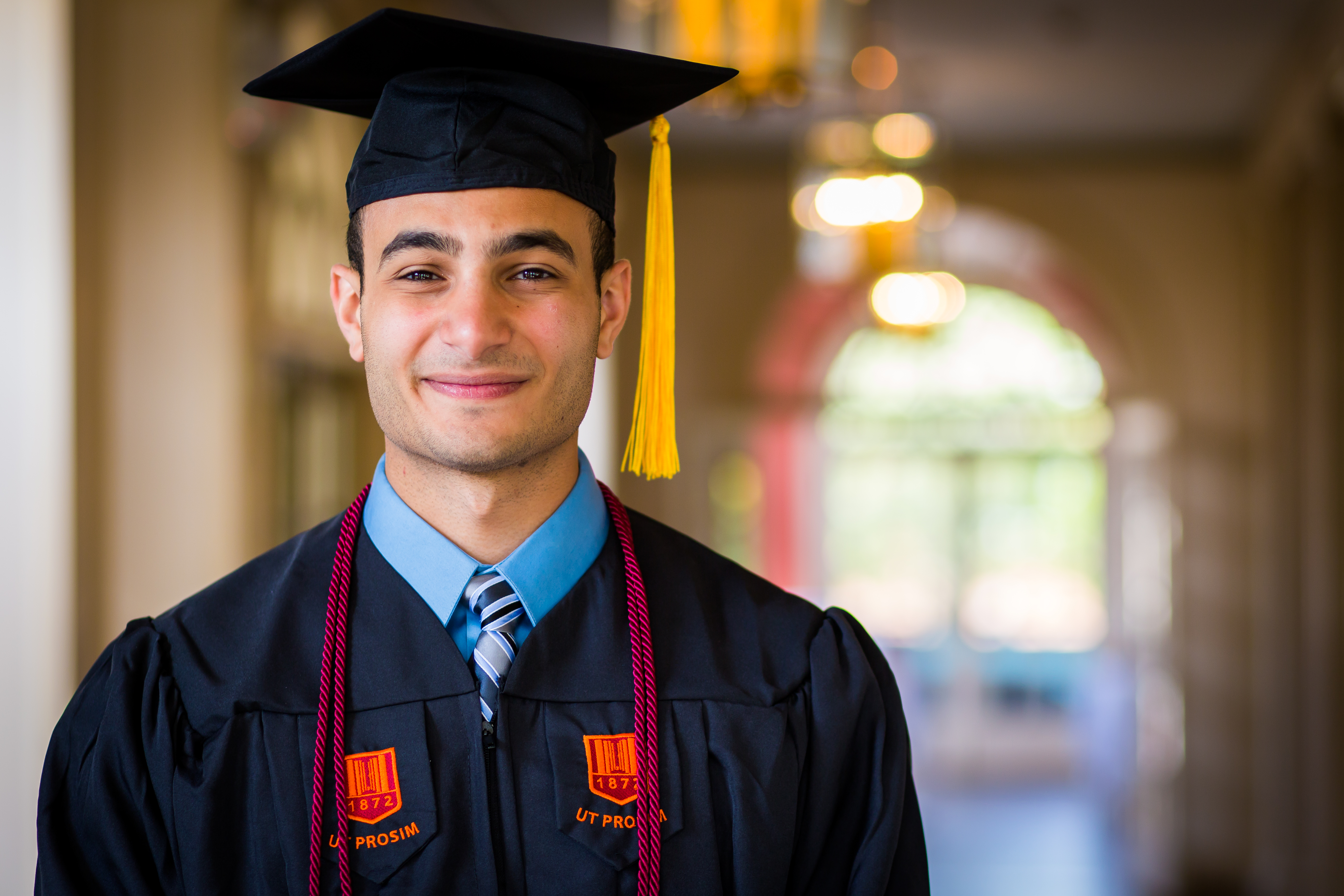 Michael Azir was one of 30 students recently honored at the Virginia Tech Summer Academy recognition ceremony.
