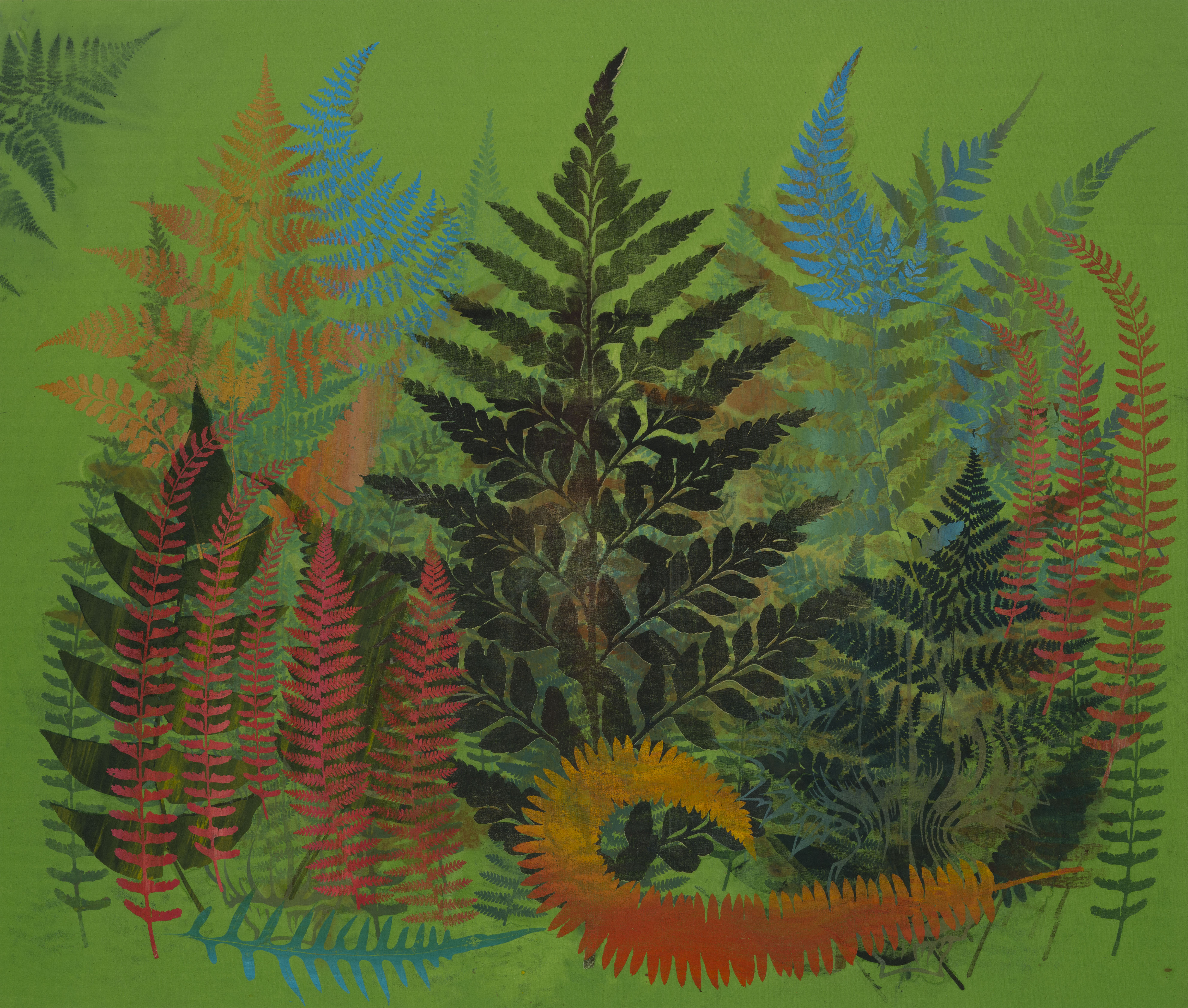 Philip Taaffe painting
