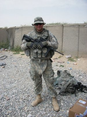 Trey VanHout served with the U.S. Army in Afghanistan.
