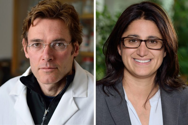 Marc Edwards and Mona Hanna-Attisha