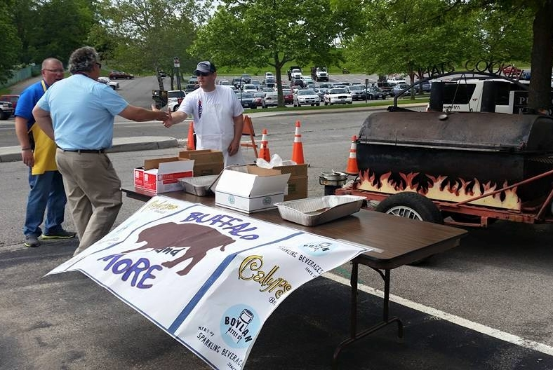 Police department hotdog fundraiser