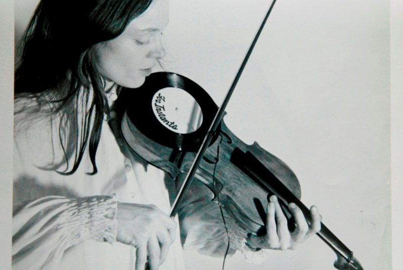 Laurie Anderson violin
