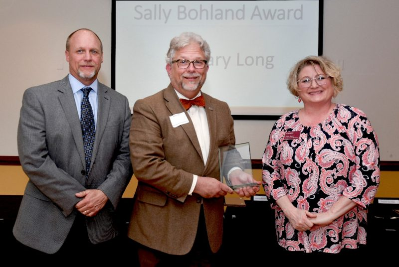 Gary Long receives the Sally Bohland Excellence in Access & Inclusion Award