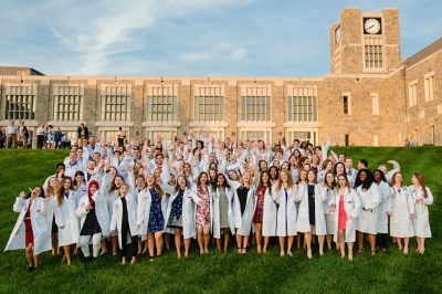 Great Lawn White Coat Group Photo
