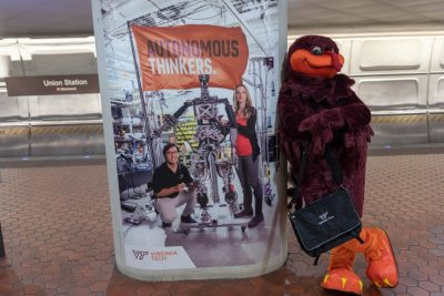 HokieBird at Union Station